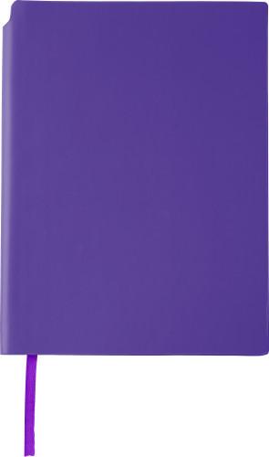 Anteckningsbok (A5) med pennhållare