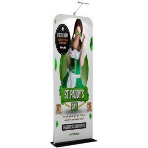 Banner stand (61x228 cm)