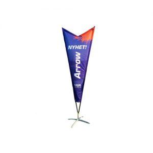 Beachflagga Premium Arrow (M)