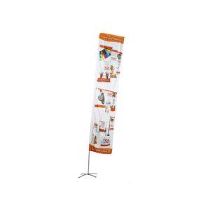 Beachflagga Rektangulär (M)