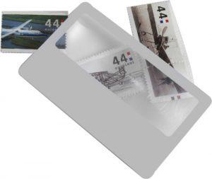 Förstoringsglas kreditkort