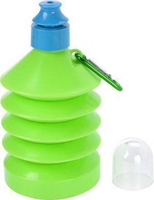 Hopfällbar vattenflaska (600 ml)