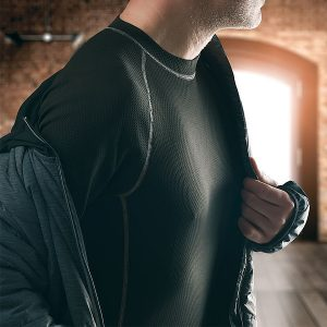 Schwarzwolf Annapurna tröja underställ med lång ärm, herr