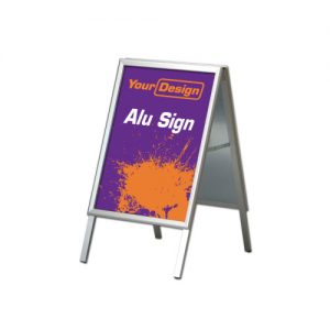 Sign Alu stand (50 x 70 cm)